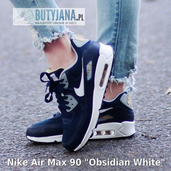 nike air max 90 youth gs zwart