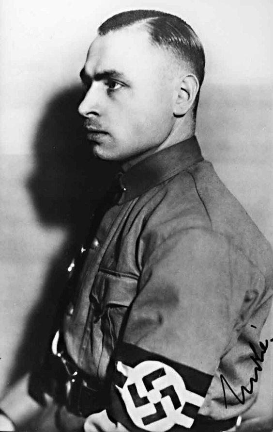 Josef Grohé (1902-1987) deputy Gau leader of the Rheinland Gau (1925-1931), Gau leader of the Colgne-Aachen Gau (1931-1945) Prussian Privvy Councillor (1933-1945).