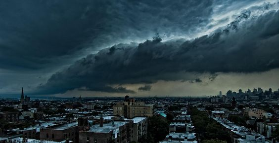 Storm over Brooklyn