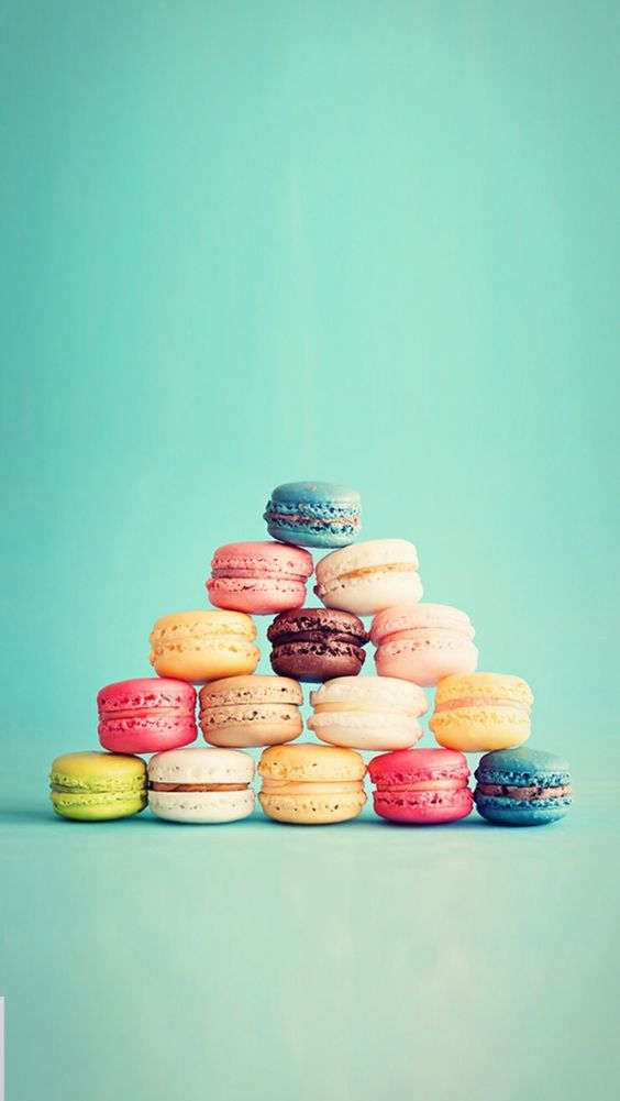Pyramide de macarons wallpaper pinterest vintage - Macaron iphone wallpaper ...