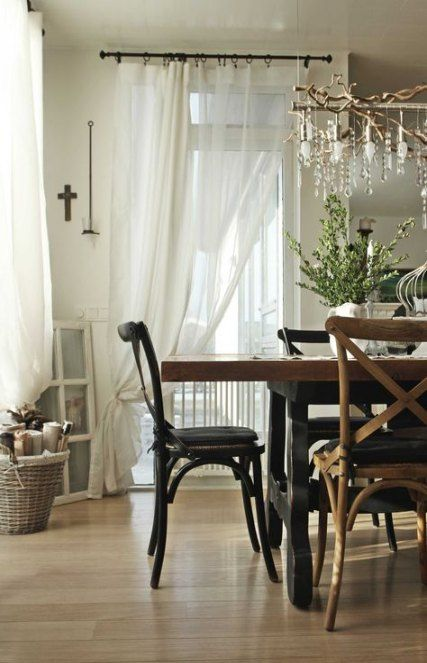Farmhouse Curtains Joanna Gaines : farmhouse, curtains, joanna, gaines, Ideas, Farmhouse, Dining, Curtains, Joanna, Gaines, House, Living, Room,, Style