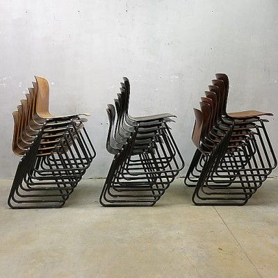 Located using retrostart.com > Dinner Chair by Unknown Designer for Galvanitas