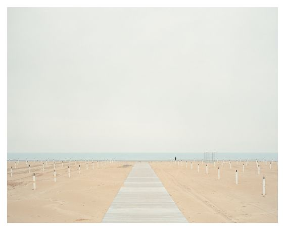Spiaggia by Akos Major, via Behance