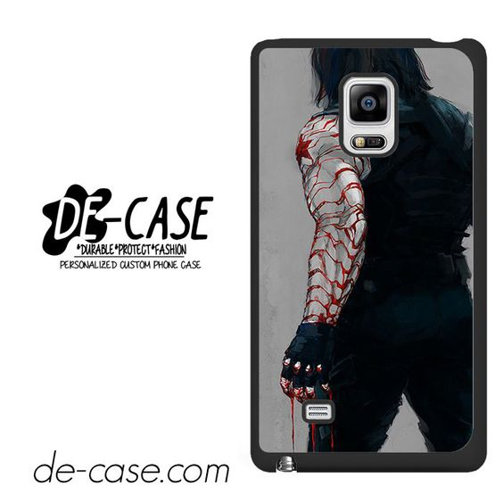 Bucky Is Winter Soldier DEAL-2167 Samsung Phonecase Cover For Samsung Galaxy Note Edge