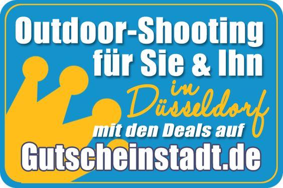 Mit Glück günstiger zum #Outdoorshooting in #Düsseldorf mit #Gutscheinstadt