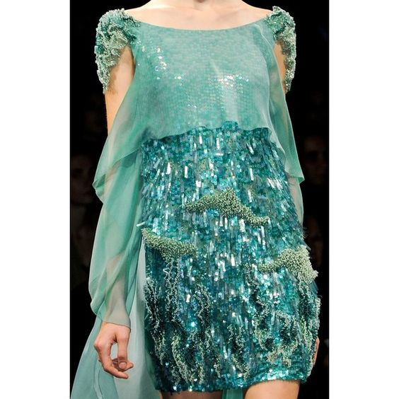 ZsaZsa Bellagio: Aqua Beautiful found on Polyvore