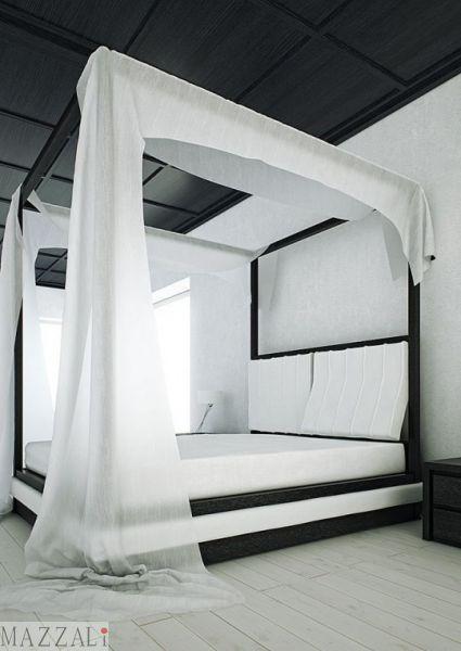 Mazzali. Canopy Bed