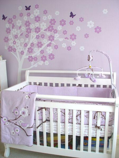 Lilac nursery nursery ideas and nurseries on pinterest for Nursery project ideas