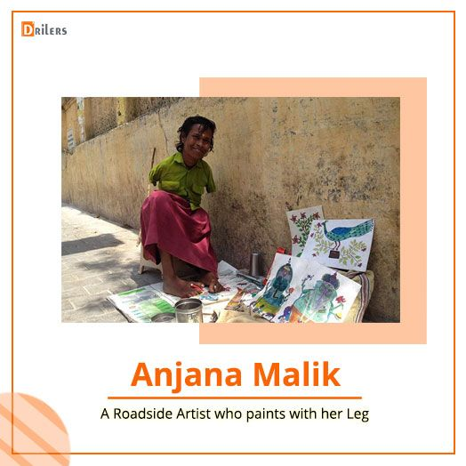 The Inspiring Story Of Handless Roadside Artists Who Fighting Against All Difficulty Inspirational Story Stories With Moral Lessons Motivational Stories