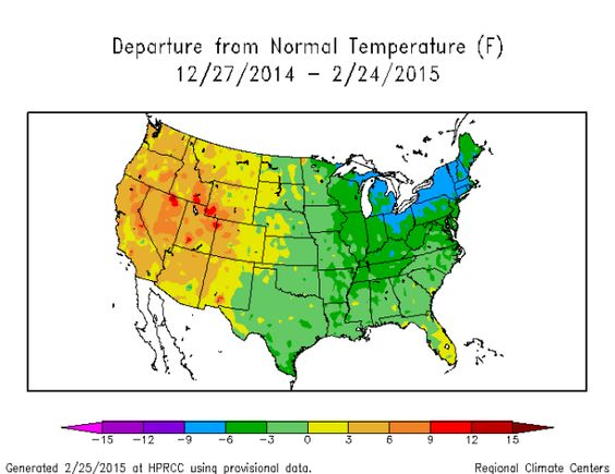 Hottest Winter Ever Update  The fraud continues.