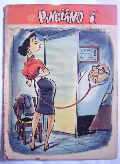 Details About Pinguino Comic Numero 5 Humor Coleccion Vintage