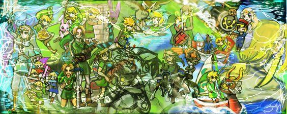 The Legend of Zelda Series / LINK / 「紡がれるその勇気」/「葵瑠佳(Rの下忍)」の漫画 [pixiv]