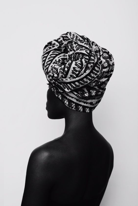 EasyFashion I black white I photography I african woman