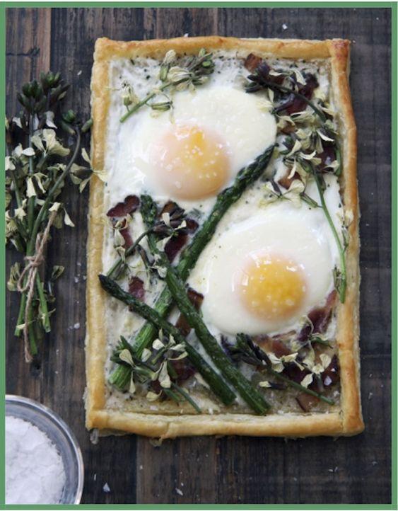 breakfast tart - yes please.