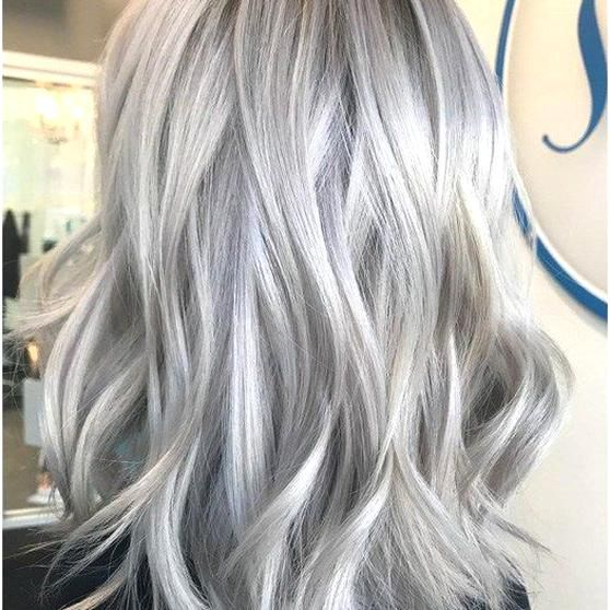 Platinum Silver Transformation High Maintenance Blonde Upkeep Makeover In 2020 Silver Hair Wedding Parties Pictures Long Hair Styles