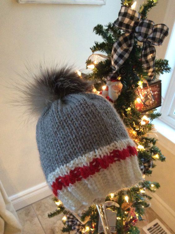 patron tricot tuque bas de laine