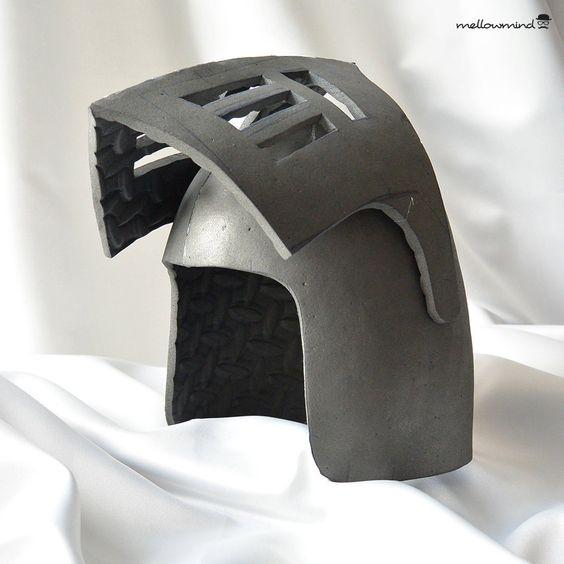 diy knight helmet template for eva foam version b knight helmets and templates. Black Bedroom Furniture Sets. Home Design Ideas