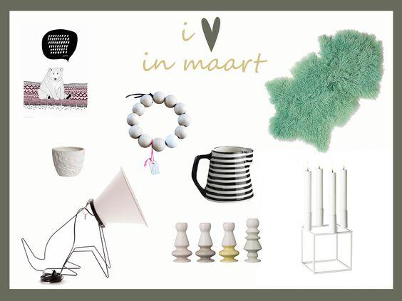 Favorieten - interieur - Reddisch Design - Hubsch - Odesi - Onshus - Tine K. - Bloomingville - By Lassen http://www.stijlhabitat.nl/i-hartje-in-maart-2014/
