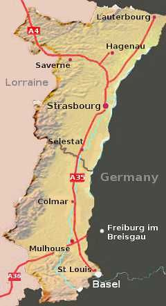 Alsace, France... I have ancestors on both sides of my family from here. Hmm, they have a St. Louis too. Didn't know that. Interesting!: