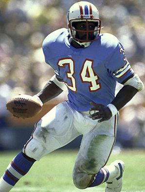 Earl Campbell - Houston Oilers - RB. Also Hot Sausage King! I dont eat them but they are very popular!
