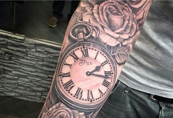 Tatuagem Relogio Veja Oque Significa E Como Fazer Fotos Com