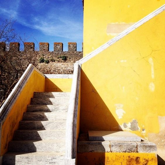 PhotoFriday :: Yellow | Beja Castle :: Portugal (22.02.2015)