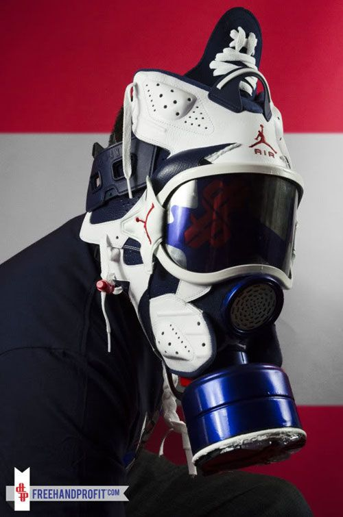 Sneakers Gas Mask