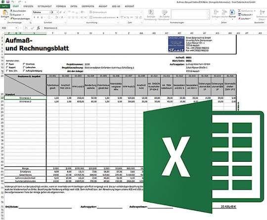 Naturlich Aufmass Vorlage Elektro Lebenslauf Vorlagen Word Vorlagen Flugblatt Design