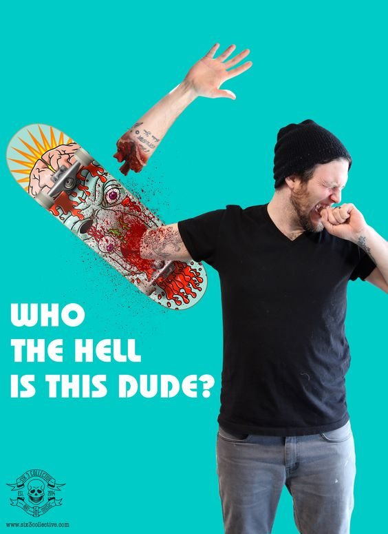 New Skate Decks Available Now at shop.six3collective.com #skateboards #horror #vampire #advertising #thrasher #skateordie #sweetskateboards #gore