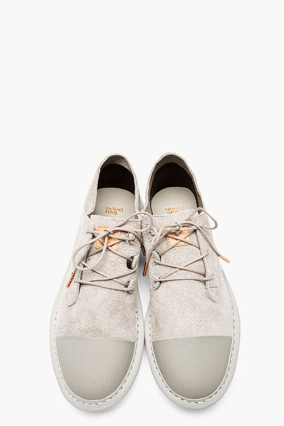 ADIDAS BY TOM DIXON Grey suede minimalist traveler's SHOES Seguici su Hermans…