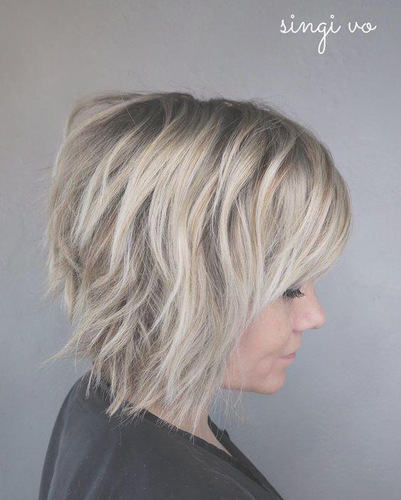 7020 Best Neue Frisuren Images On Pinterest Short Hairstyle Hair Frauen Haare Short Shag Hairstyles Thick Hair Styles Short Shag Haircuts