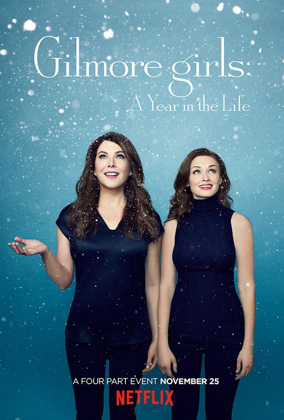 Gilmore Girls: A Year in the Life Blesses the Internet With 4 New Posters, One for Each Season: