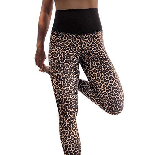 Femmes taille haute à revêtement Leggings Gym Yoga Running Sports Fitness jupe pantalon