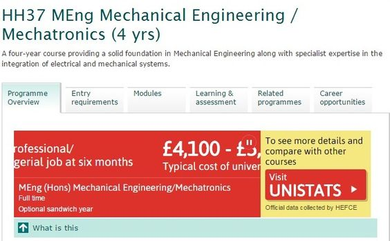 MEng Mechanical Engineering | Mechatronics | Engineering and the Environment | University of Southampton