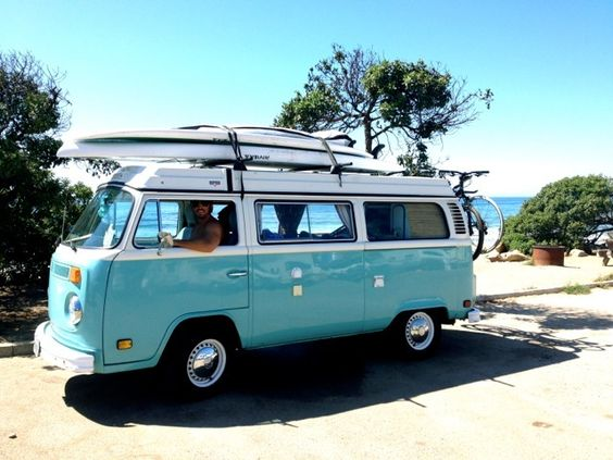We Take A Road Trip In Volkswagen S Fantastic California: Vw Bay Window At The Beach #vwbus Volkswagen Pinned By