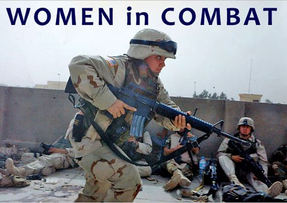 Women in the military.