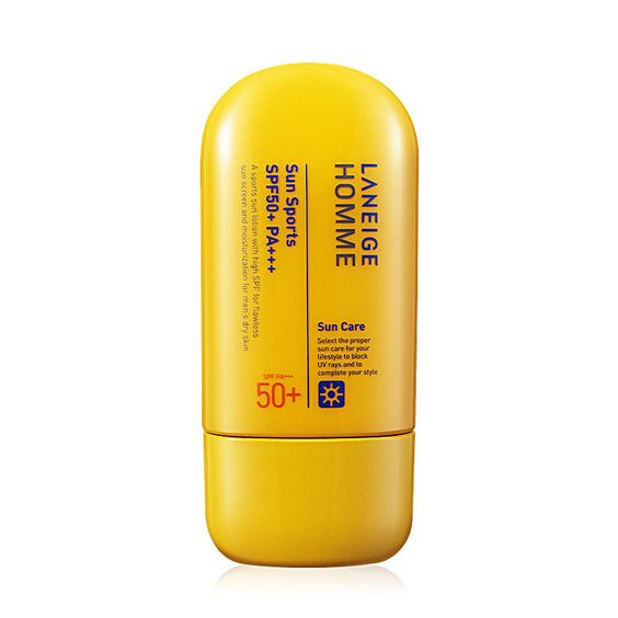 [Laneige] Men's Korea Cosmetic Sun Sports Homme SPF50+ PA+++ 50ml FREE GIFT #LANEIGE