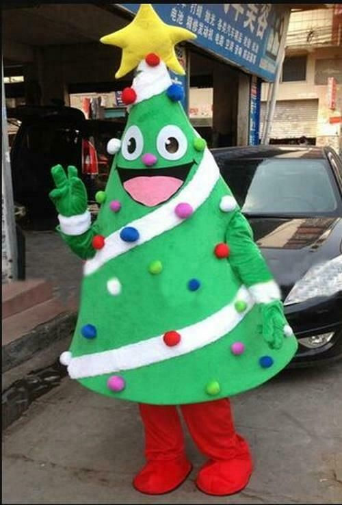 Christmas Tree Mascot Christmas Costume Suits Cosplay Dress Outfits Advertising Ebay Halloween Christmas Tree Halloween Costume Suit Christmas Costumes