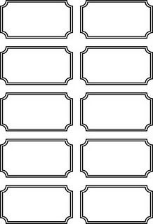 Blank printable ticket stubs - Going to use these as rewards for doing chores and having good behavior