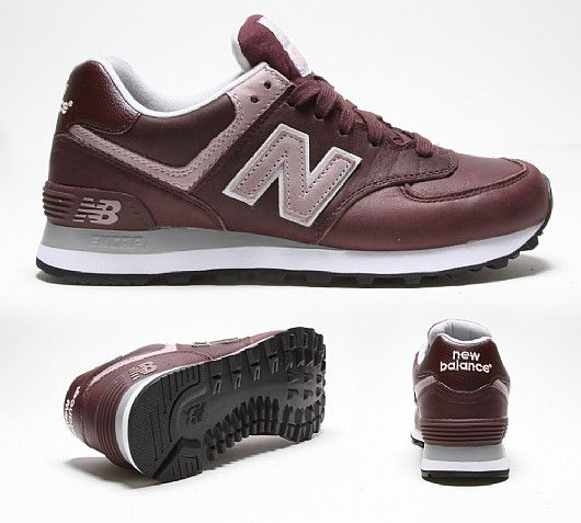new balance leather womens