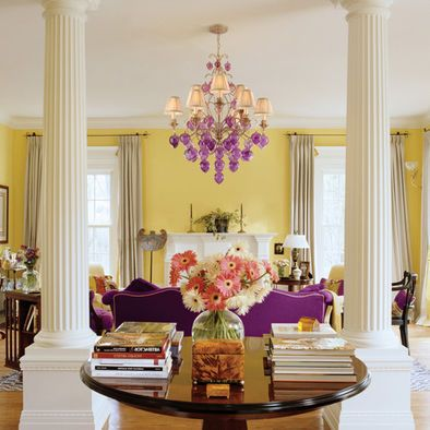 Contemporary Living Room Chandelier Design, Pictures, Remodel, Decor and Ideas