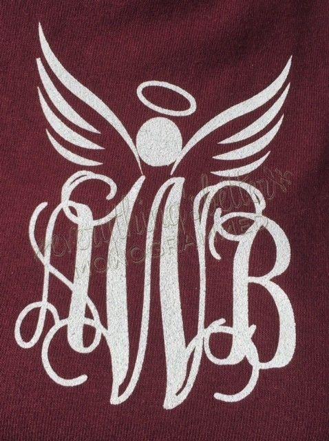 Angel Monogrammed Sweatshirt