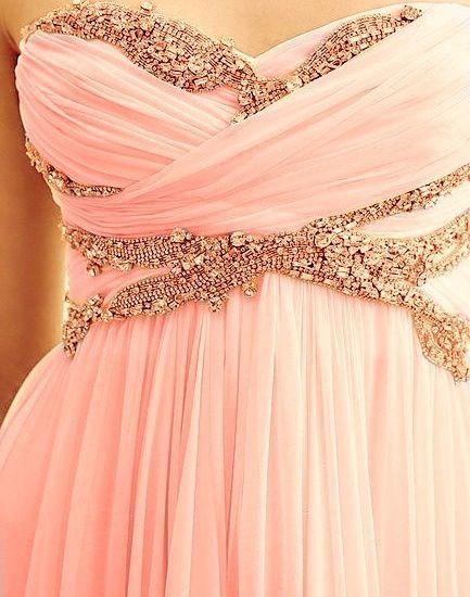 Pretty jewels on dress