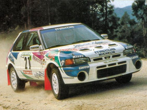 1993 Mazda 323 GTR-Alessandro Fassina-Luigi Pirollo-9º-1º Gr.N