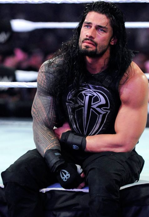 Felt so sorry for Roman at Wrestlemania 31, he will be the champ one day ♡