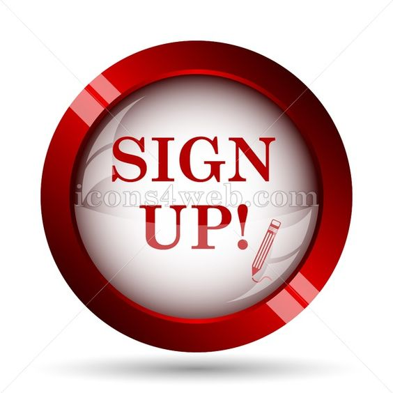Sign Up Website Icon High Quality Web Button Website Icons