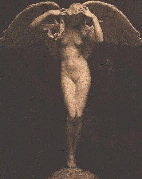 Descending Night ~ Adolph Alexander Weinman 1914