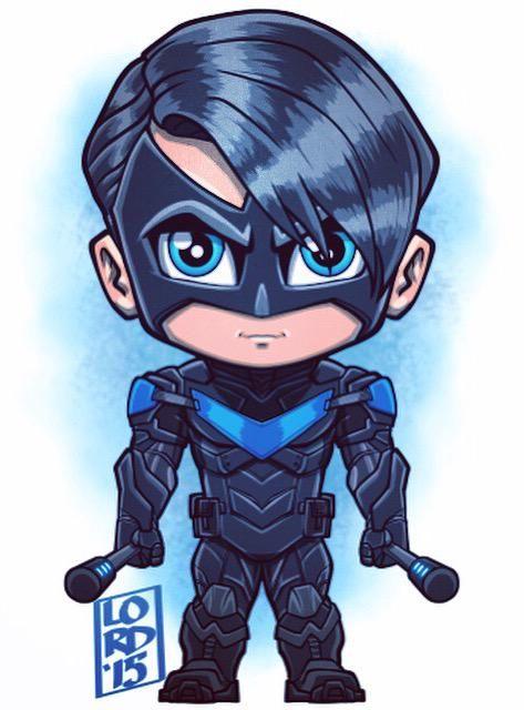 #ArkhamKnight: #Nightwing!!! One of my all time favorite characters #BatmanArkhamKnight #BeTheBatman