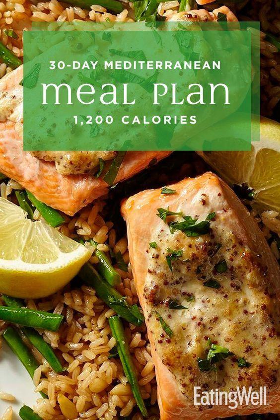 30 Day Mediterranean Diet Meal Plan 1 200 Calories Easy Mediterranean Diet Recipes Mediterranean Diet Meal Plan Mediterranean Diet Recipes