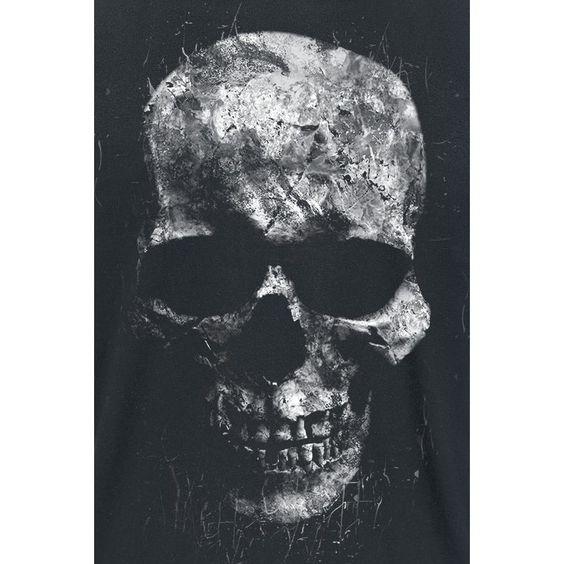 Splattered Skull  T-Shirt  »Splattered Skull« | Jetzt bei EMP kaufen | Mehr Rockwear  T-Shirts  online verfügbar ✓ Unschlagbar günstig!